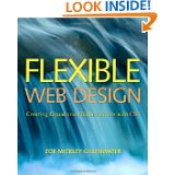 book cover flexible web design