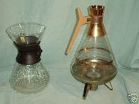 2 vintage coffee pots